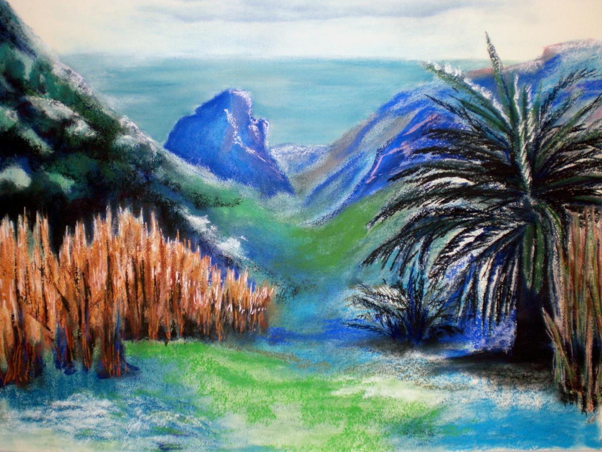 Mein Ort/ Malerei
