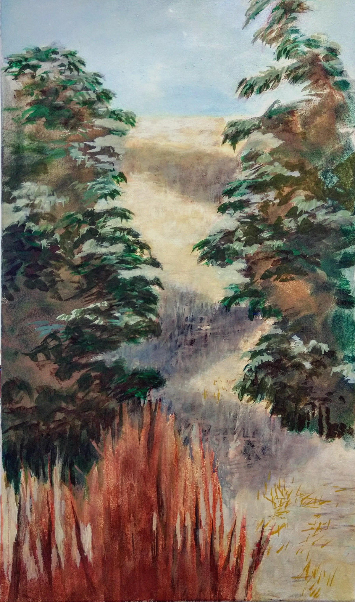 Plantage/ Malerei