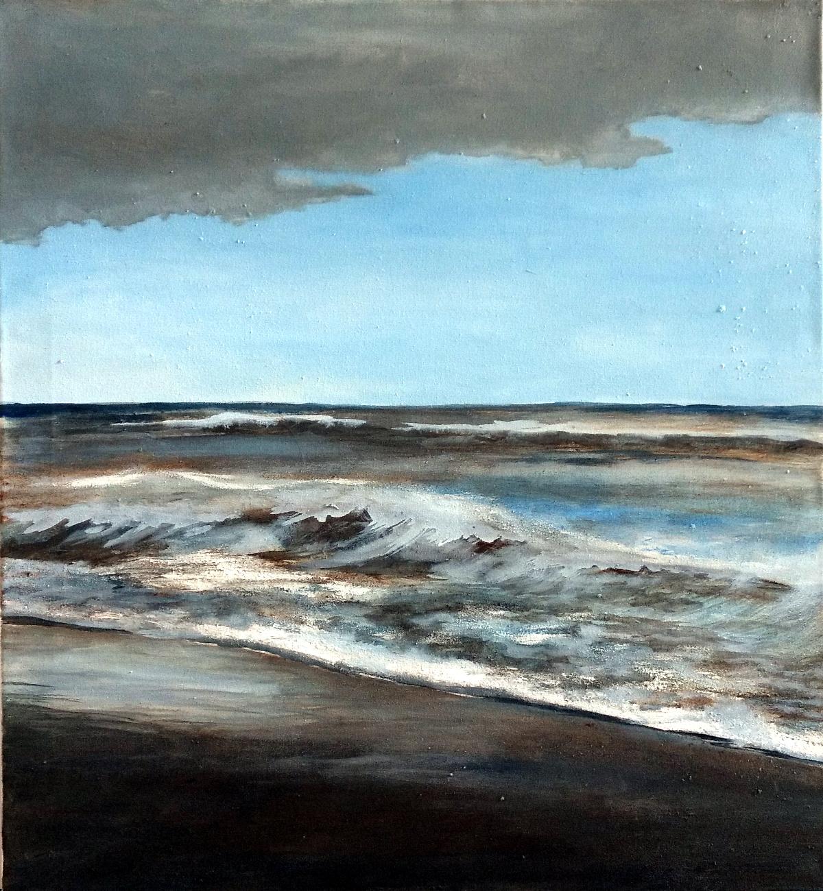 Wellen/ Malerei