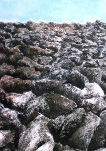 Kohlezeichnung Ausschnitt
