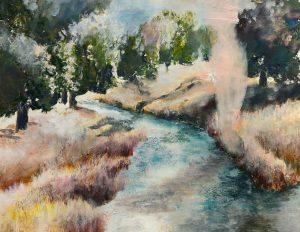 Fluß und Mensch