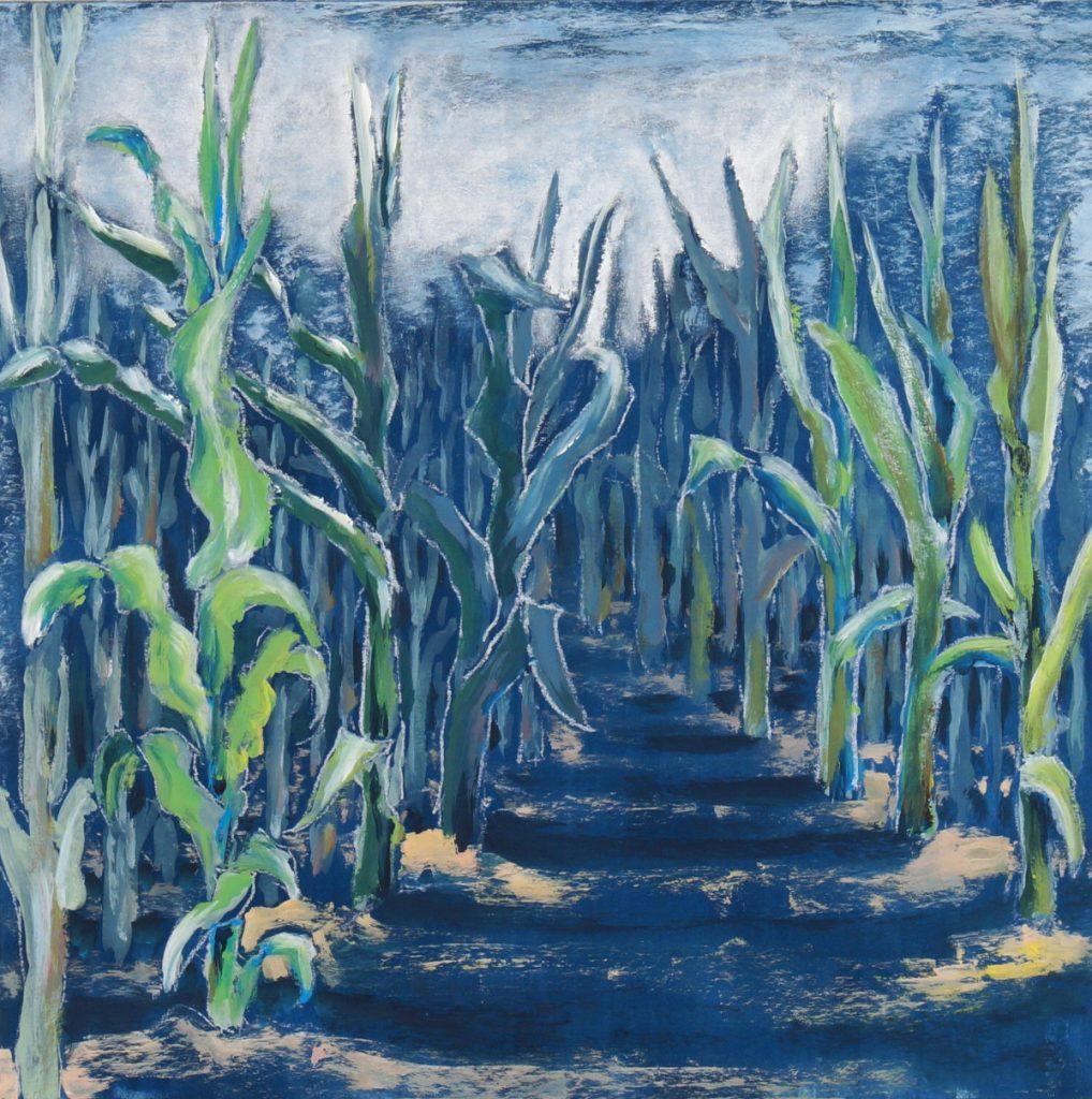 Inmitten von Mais
